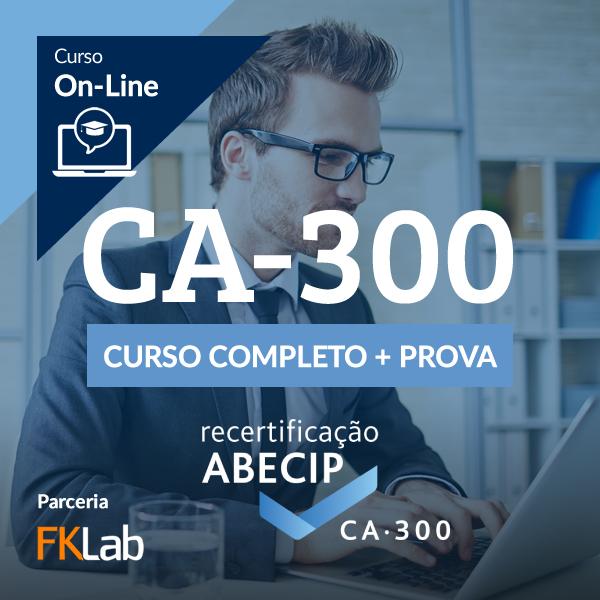 Recertificação CA-300 - Curso Completo + Avaliação On-Line